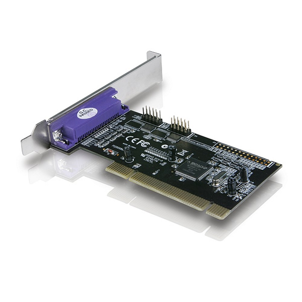 Vantec 2+1 Serial and Parallel PCI Host Card (Black)