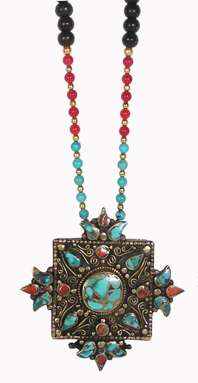 Remembering Tibetan Refugees Amulet by Dakini Designs (Image #1)