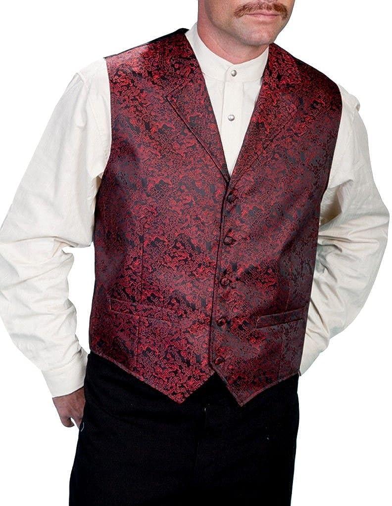 Scully Rangewear Men's Rangewear Dragon Vest Big and Tall Red X-Large Tall