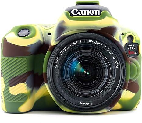 Verde Silicona Funda para Suave Silicona Goma cámara Protectora ...