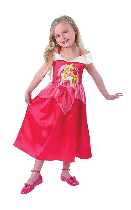 Rubies Disney - Disfraz de princesa para niña, talla 5-6 años (I-889553M)