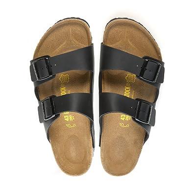 Amazon.com | Birkenstock Womens Arizona Sandals size 40 in Black | Sport Sandals & Slides