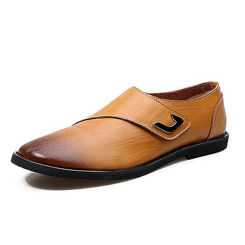 Feidaeu Botines Chelsea de Material Sintético Hombre: Amazon.es: Zapatos y complementos