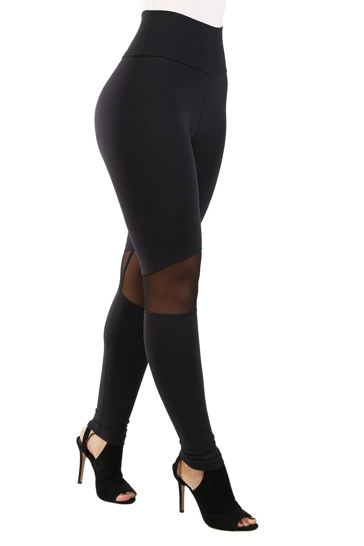 Thick Leggings Non See Through Curvify Elegant High Waisted Womens Leggings
