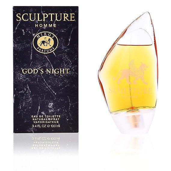 Nikos Sculpture Homme Gods Night Edt Spray 100 Ml Amazoncouk