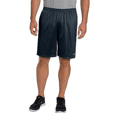 7f79e55bf5b86 Champion Men's Long Mesh Short with Pockets at Amazon Men's Clothing ...