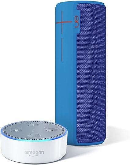 Ultimate Ears Boom 2 Waterproof Bluetooth Portable Speaker BrainFreeze Blue NEW