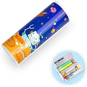 Amazon.com: Wusheng - Estuche de lápices para niños y niñas ...