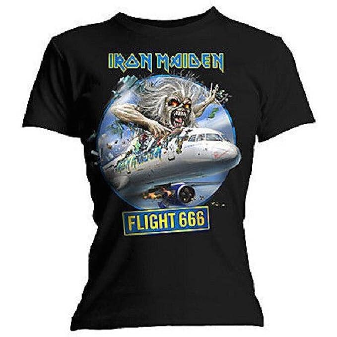 Iron Maiden - de Aviones de Papel 666 - Producto Oficial de T-Camiseta de