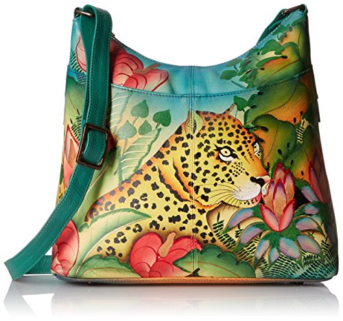 Leopard Large Jungle Anuschka Handpainted Jungle Leopard Leather Organiser RwwF0p