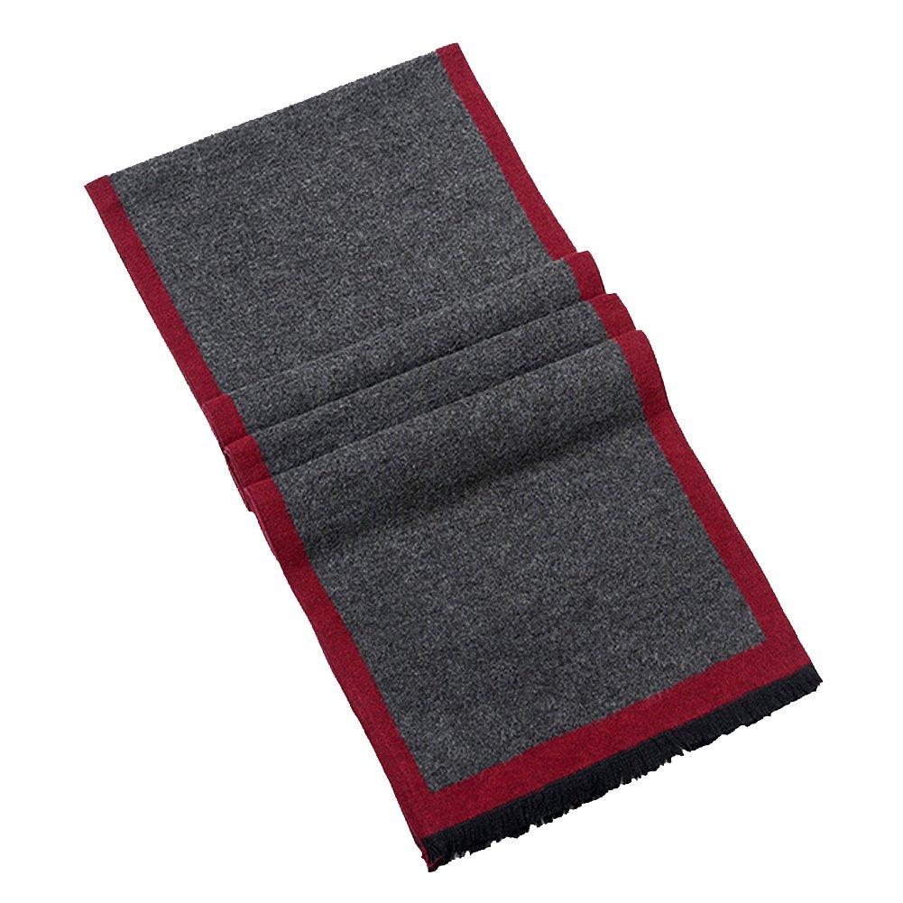 Tenchif Mens Winter Neck Warm Scarf Wrap