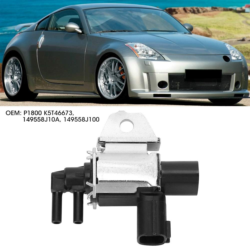 Qiilu Car Control Solenoid Valve 14955-8J10A K5T46673 Fit for Nissan VIAS Auto Accessory