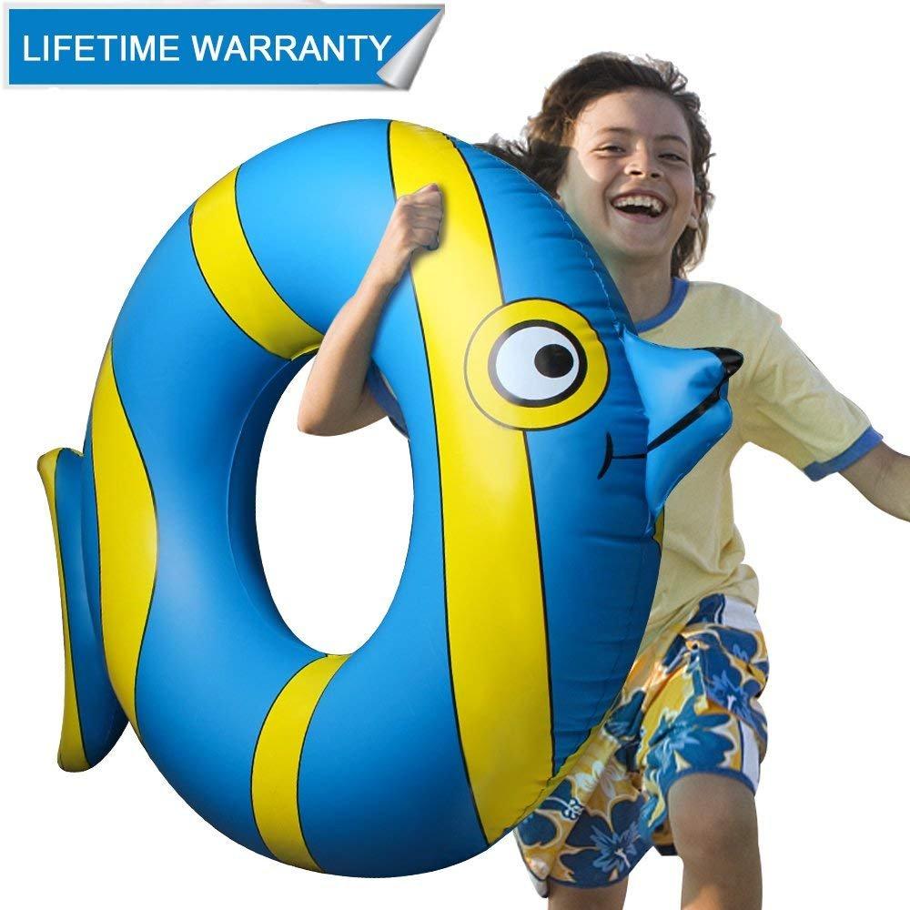 Inflable Flotador Juguete Hinchable para Piscina, Leeron Flotador de Animal Colchonetas Flotante para Playa, Anillo de la Natación, Silla de la ...