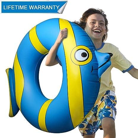 Inflable Flotador Juguete Hinchable para Piscina, Leeron Flotador de Animal Colchonetas Flotante para Playa,