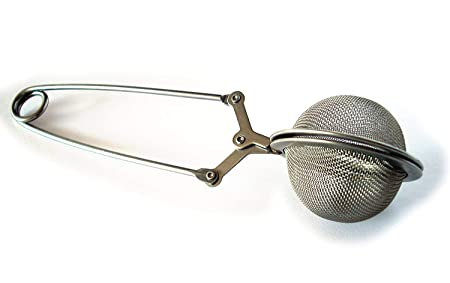 Trexee Green Tea Infuser Ball with Easy Filter, Silver Coffee, Tea & Espresso at amazon