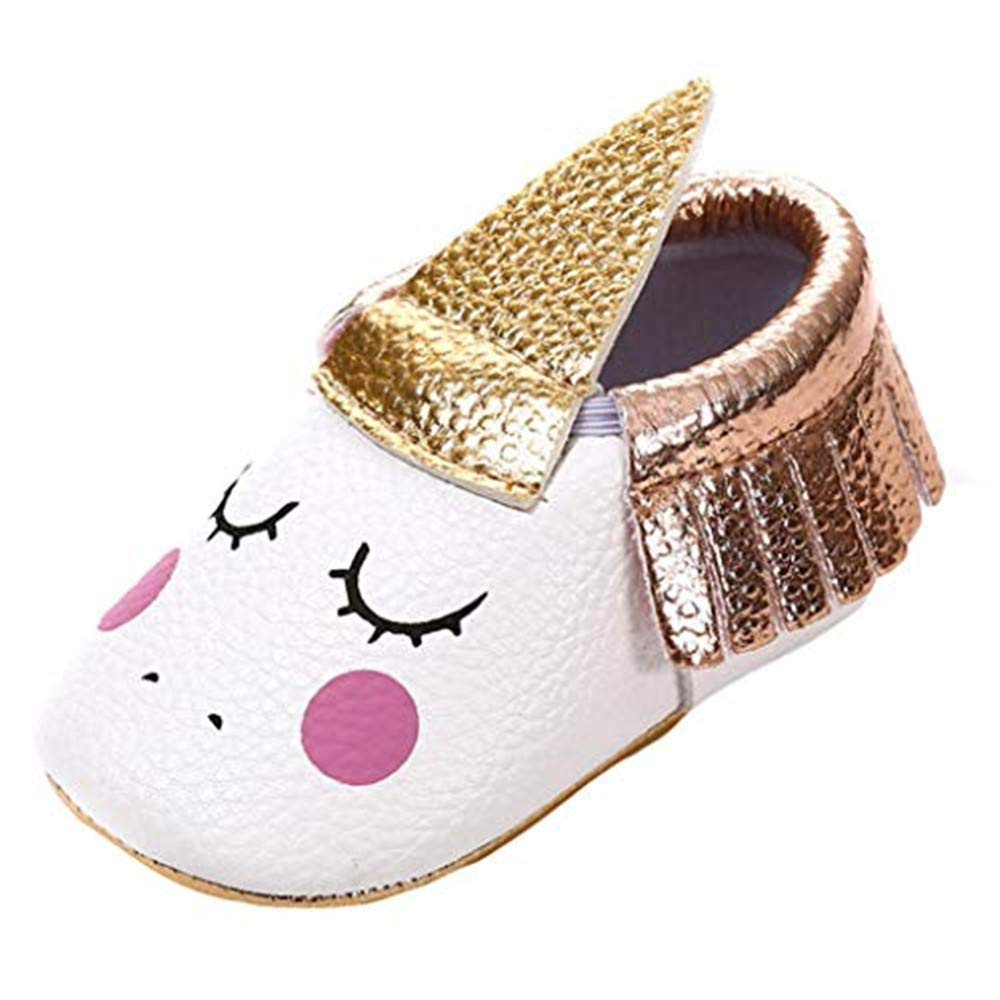 cd93a5336812a LILICAT First Walkers Kid Shoes, Unicorn Baby Girl Eyelash Tassels ...