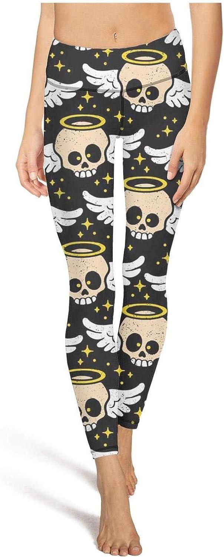 Women Yoga Pants Love Angel Super Soft Yoga Leggings with Pockets