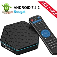 EASYTONE T95Z Plus Android TV Box Android 7.1 HD Player Amlogic S912 Media Box Octa Core 2GB DDR3 16GB Emmc 5Ghz WiFi 1000M LAN Ethernet 64-bit H.265 Bluetooth 4.0 DLNA UHD 4K Mini PC TV Boxes
