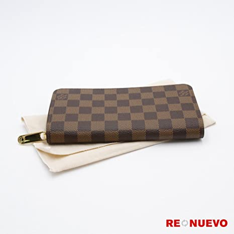 2a32906d2c Louis Vuitton Monogram tela Zippy wallet M60017 include copertura  antipolvere e costruttori data code