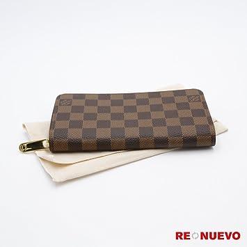 Louis Vuitton Monogram lienzo Zippy Wallet m60017 incluye protector contra el polvo y fabricantes FECHA código: Amazon.es: Hogar