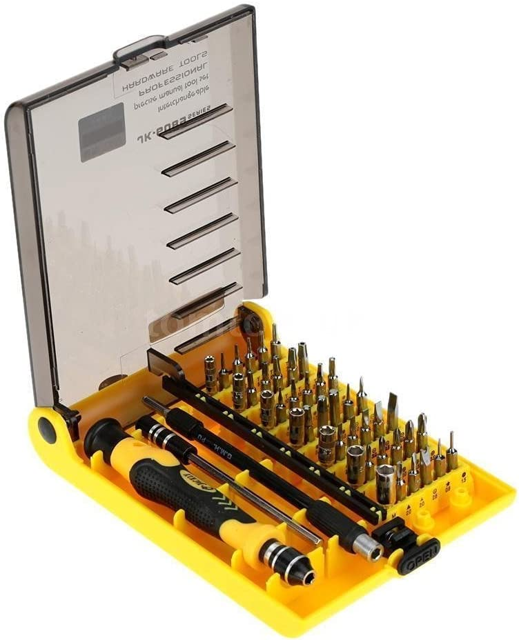LB1 High Performance Professional 54 Piece Tool Screwdriver Bit Set Repair Kit for Acer Chromebook Iron Gray C7 C710-2457 11.6 Laptop PC with Celeron 847 Processor 4GB Memory 16GB SSD and Chrome OS