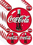 5 Sheets of Coca Cola Decal Sticker Sheet
