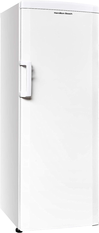 Hamilton Beach HBFRF1100, 11 cu ft, Upright Freezer, White