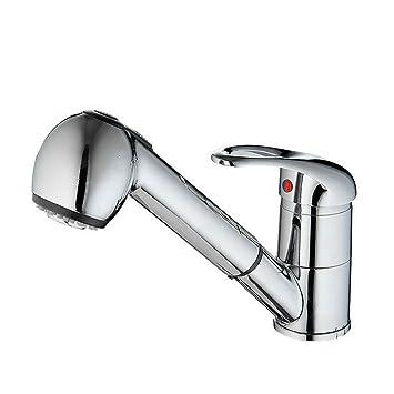 wanfor extensible grifo Pulido baño grifo Basin lavabo Licuadora ...