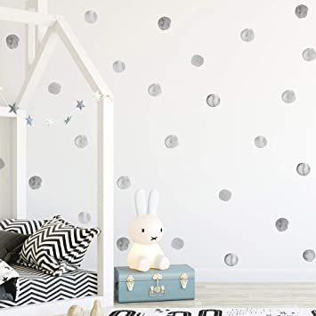 Free Shipping Wall Decor 99 Watercolor Polka Dots Wall Decals Stickers Big Collection |Wall Decals