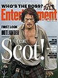 Entertainment Weekly First Look Outlander Sam Heughan October 2016 GREAT SCOT