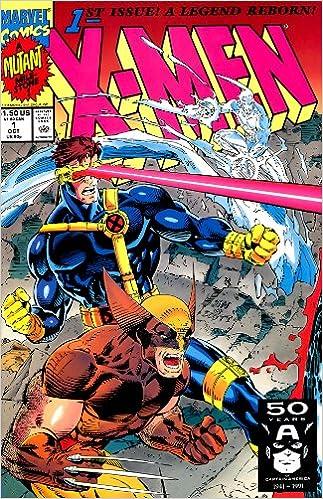X Men 1st Issue A Legend Reborn A Mutant Milestone 1991 Marvel Comics Amazon Com Books