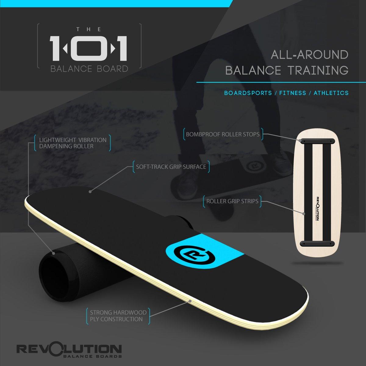 Revolution 101 Balance Board Trainer (Blue) by Revolution Balance Boards (Image #4)