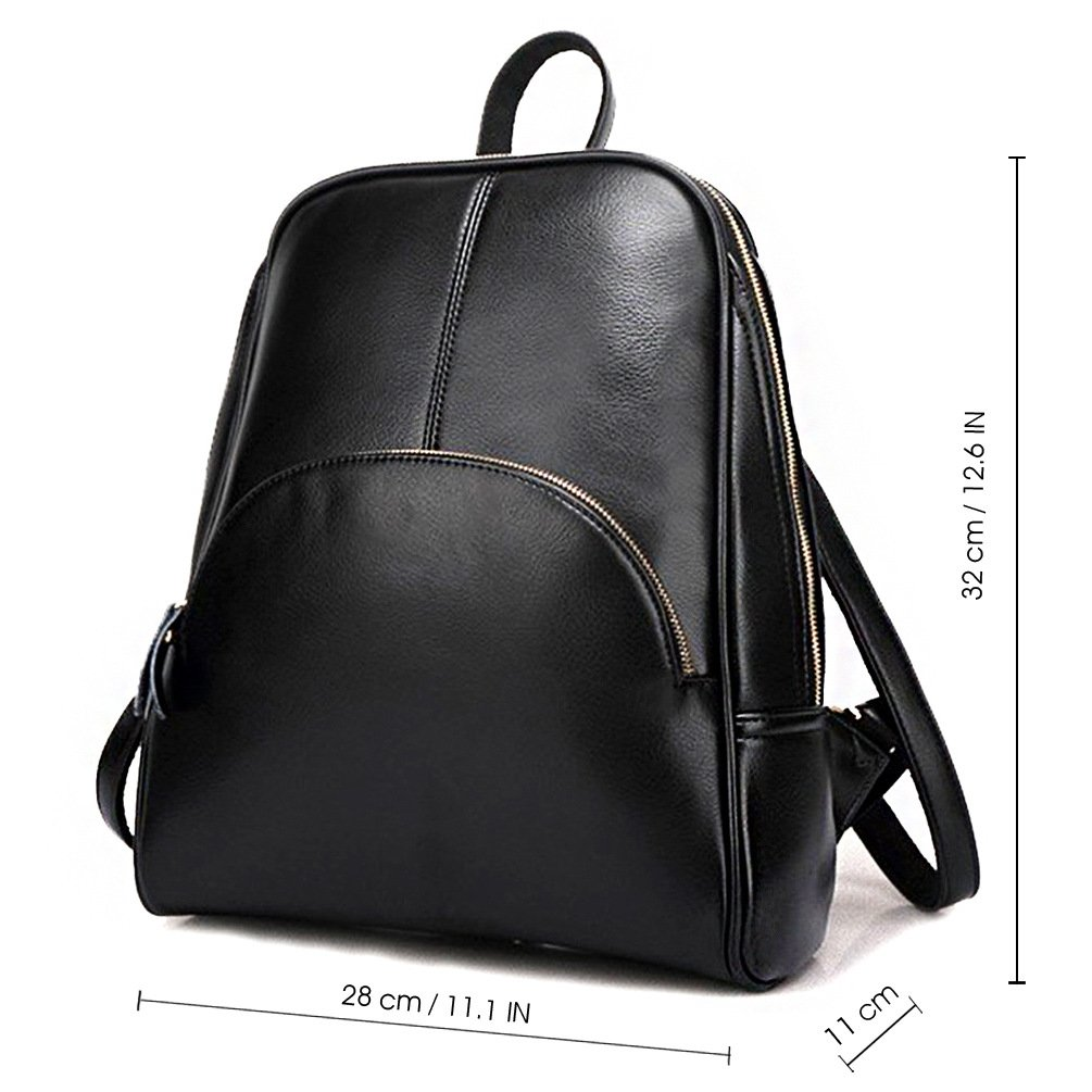 202c094a2a1 ELOMBR Women Backpack Purse Ladies Casual Shoulder Bag Pu Leather