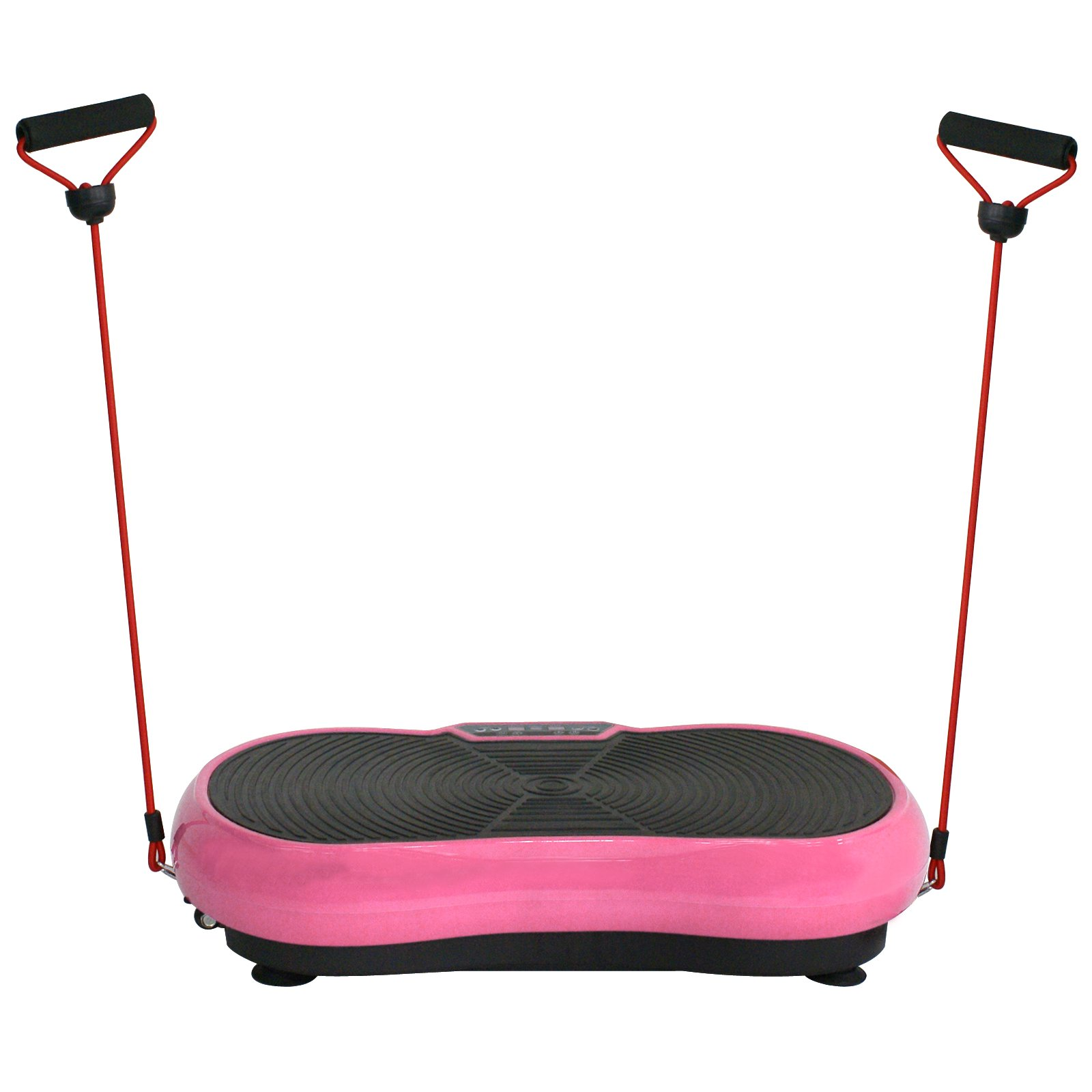 SUPER DEAL Crazy Work Out Fit Full Body Vibration Platform Massage Machine Fitness W/Bluetooth, Pink by SUPER DEAL (Image #8)