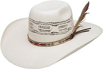 5ae8568aa0b89 Resistol Boys Young Gun Jr 4 Brim Straw Cowboy Hat OS Natural