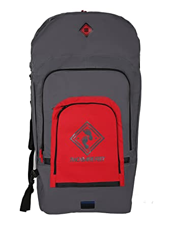 97d1801b2f Two Bare Feet TBF Deluxe Triple Bodyboard Carry Bag (Red)  Amazon.co ...