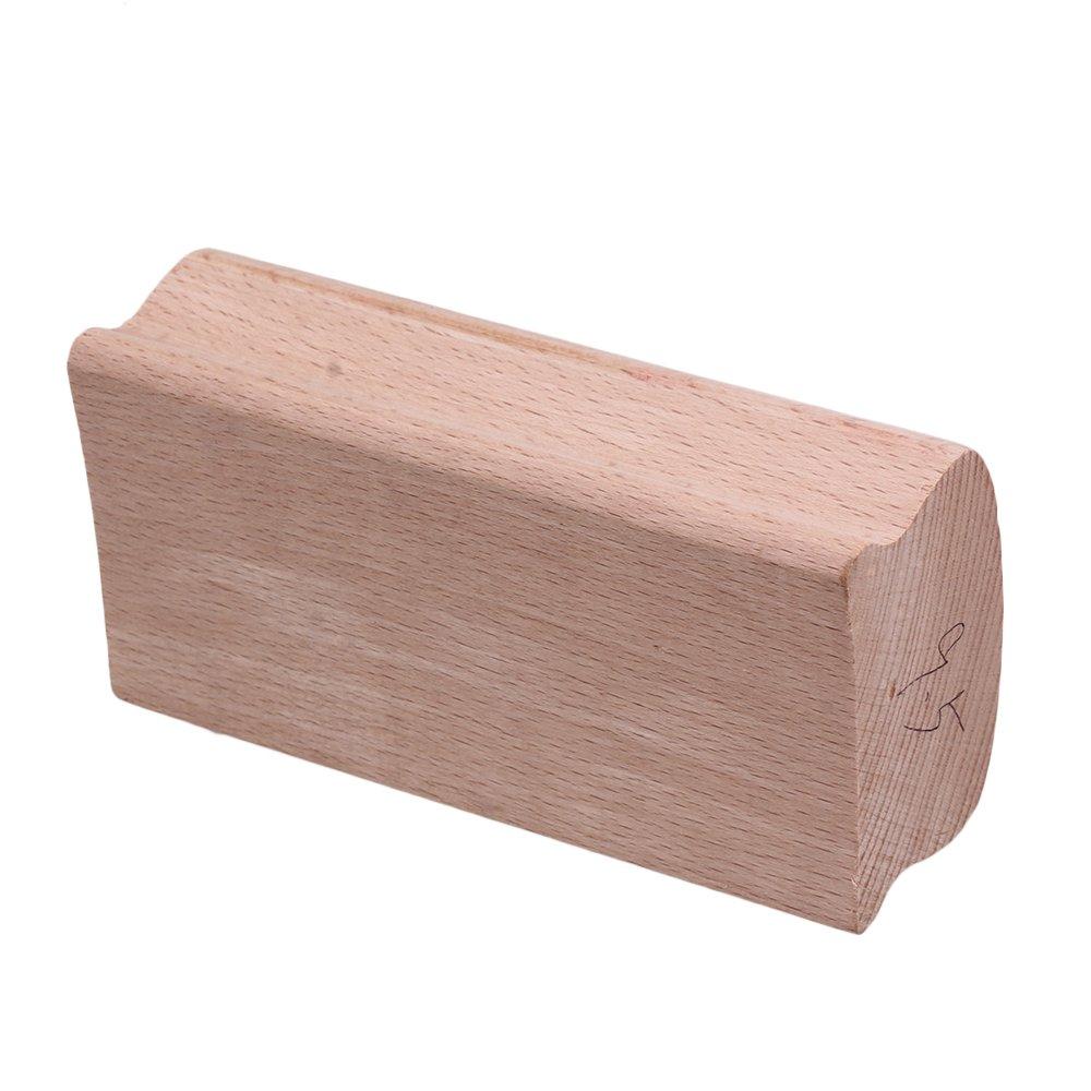 Yibuy 10# Wood Radius Sanding Blocks for Guitar Bass Fret Leveling Fingerboard Luthier Tool