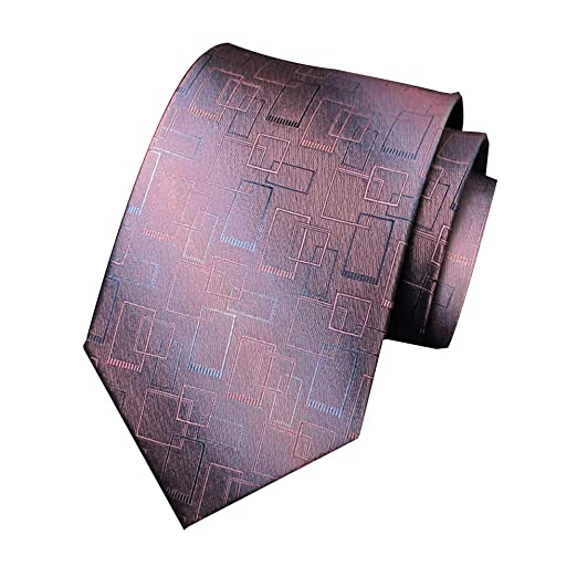GuanBen Corbata de Seda Jacquard para Hombre Corbata Elegante y ...