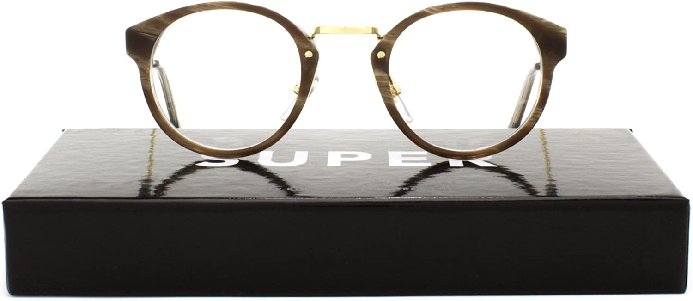 Super Eyeglasses SUSM3 Panama Optical Natural Horn by RETROSUPERFUTURE