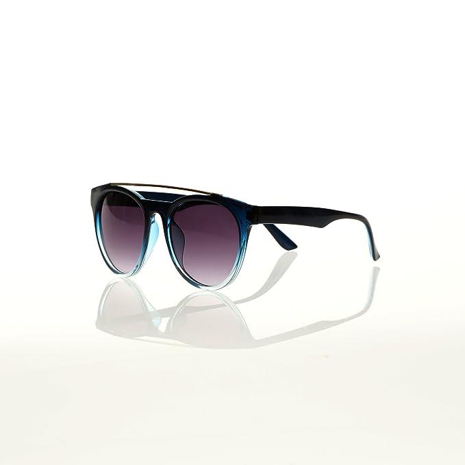 VENCA Gafas de sol montura combinada de pasta y metal mujer ...