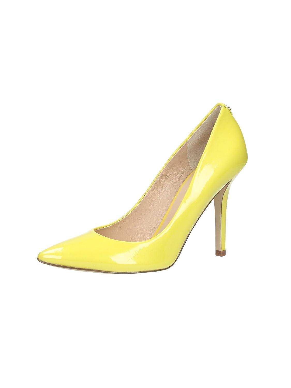 Femmes Highheels Pompes Guess Jaune Chaussures Stilettos E5fyxq