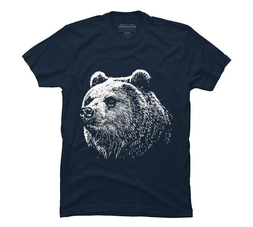 Navy T Shirt Designs | Amazon Com The Grumpy Bear Men S Navy Graphic T Shirt Design By