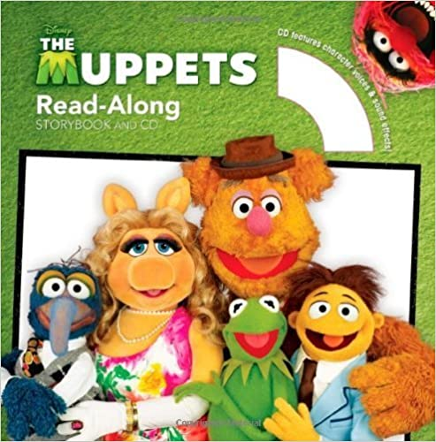 The Muppets Read-Along Storybook and CD by Disney Book Group (2012-03-13)