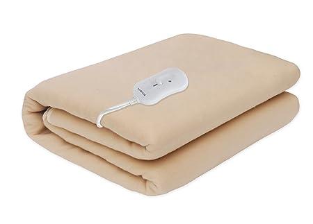 Pindia Single Bed Heating Electric Blanket - Beige