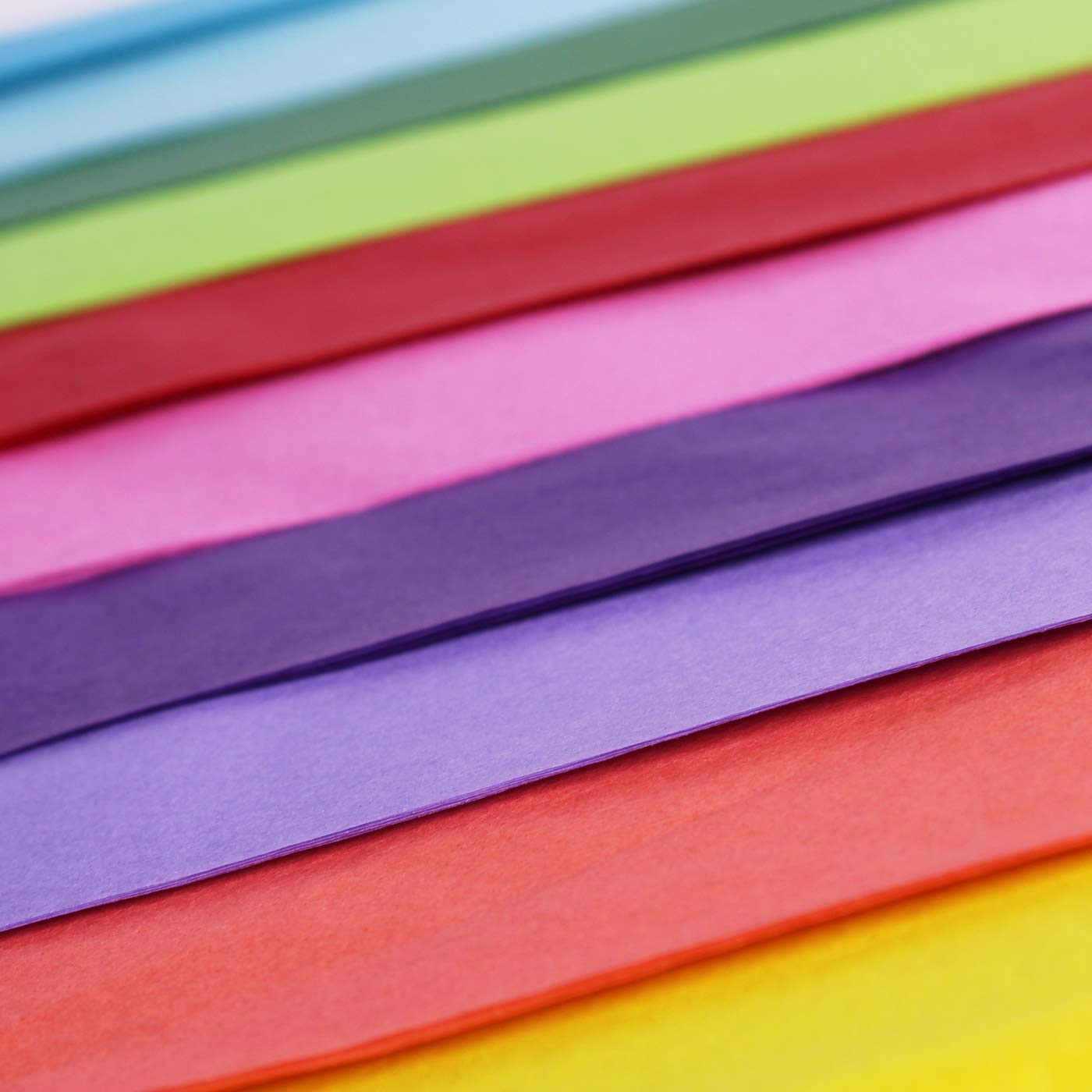 20 x 30 50pc Bobopai 2 x 50 x Multi Coloured Tissue Paper//Gift Wrap//Wrapping Paper Sheets