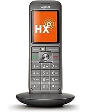 Gigaset CL660HX schnurloses Telefon (IP-Telefon Fritzbox kompatibel, VOIP DECT-Telefon, Universal-Mobilteil mit TFT-Farbdisplay, große Tasten) anthrazit-metallic