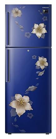 Samsung 253 L 2 Star Frost Free Double Door Refrigerator(RT28N3342U2/HL, RT28N3342U2/NL, Star Flower Blue, Inverter Compressor)