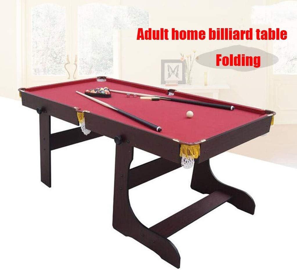 Inicio mesa de billar, plegable Hijos Adultos Mesa de billar ...