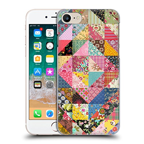 Official Rachel Caldwell Quilt Patterns Hard Back Case for iPhone 7 / iPhone 8