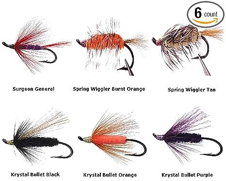 Yellow Humpy Fly Fishing Flies Twelve NEW Premium Flies Choice of Hook Size